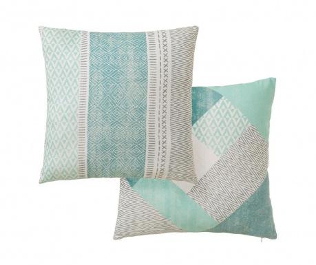 Set 2 ukrasna jastuka Waves 45x45 cm