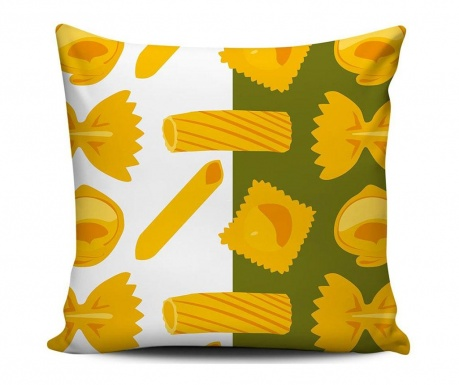 Jastučnica Pasta Pattern 43x43 cm