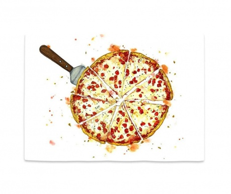 Podmetač Pizza Pattern 35x50 cm