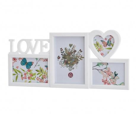 Рамка за 4 снимки Love