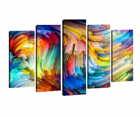 Set 5 tablouri Colors
