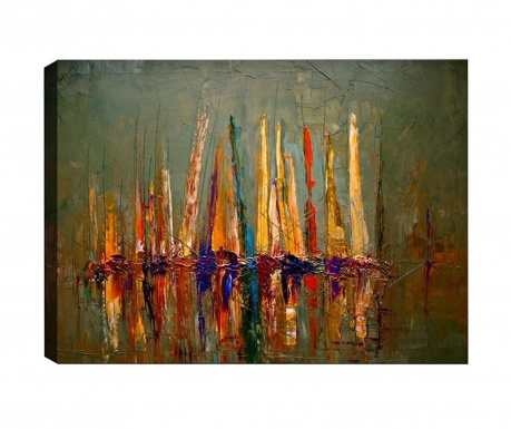 Tablou Boats 40x60 cm