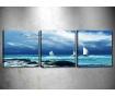Set 3 tablouri Seagull 30x30 cm