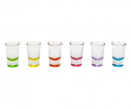 Сервиз 6 чаши за шот Norah 140 мл