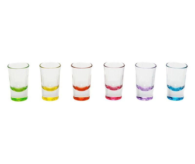 Set 6 čaša za žestoka pića Norah 140 ml