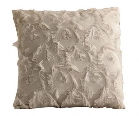 Декоративна възглавница Fringe White 45x45 см