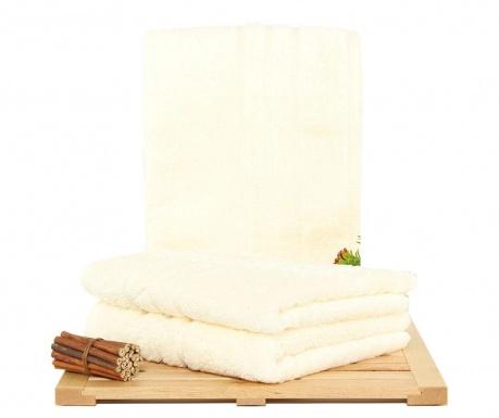 Rhonda Cream 3 db Fürdőszobai törölköző 50x100 cm
