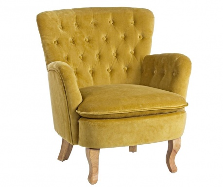 Fotelj Orlins Mustard