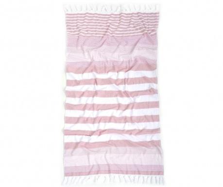 Ručník Pestemal Nanse Rose Pink 80x160 cm