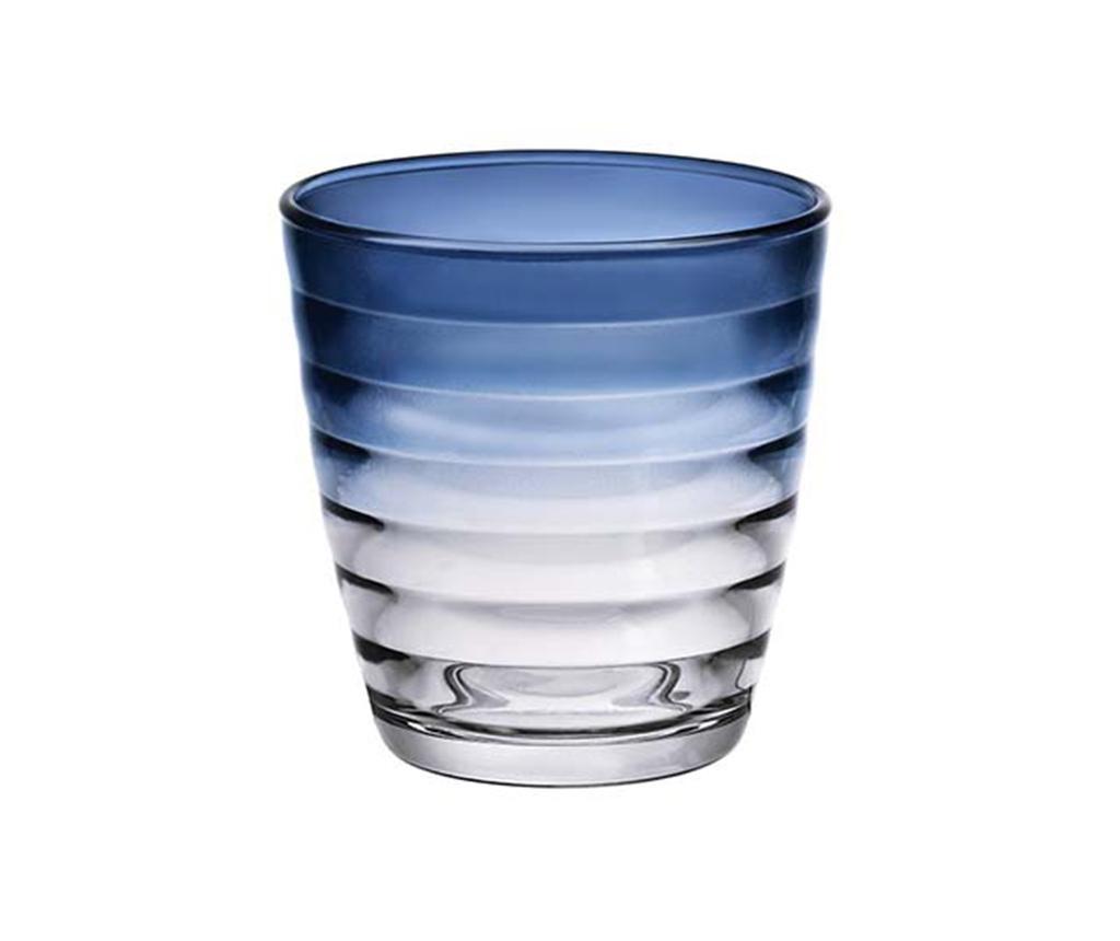 Čaša Circles Blue 270 ml