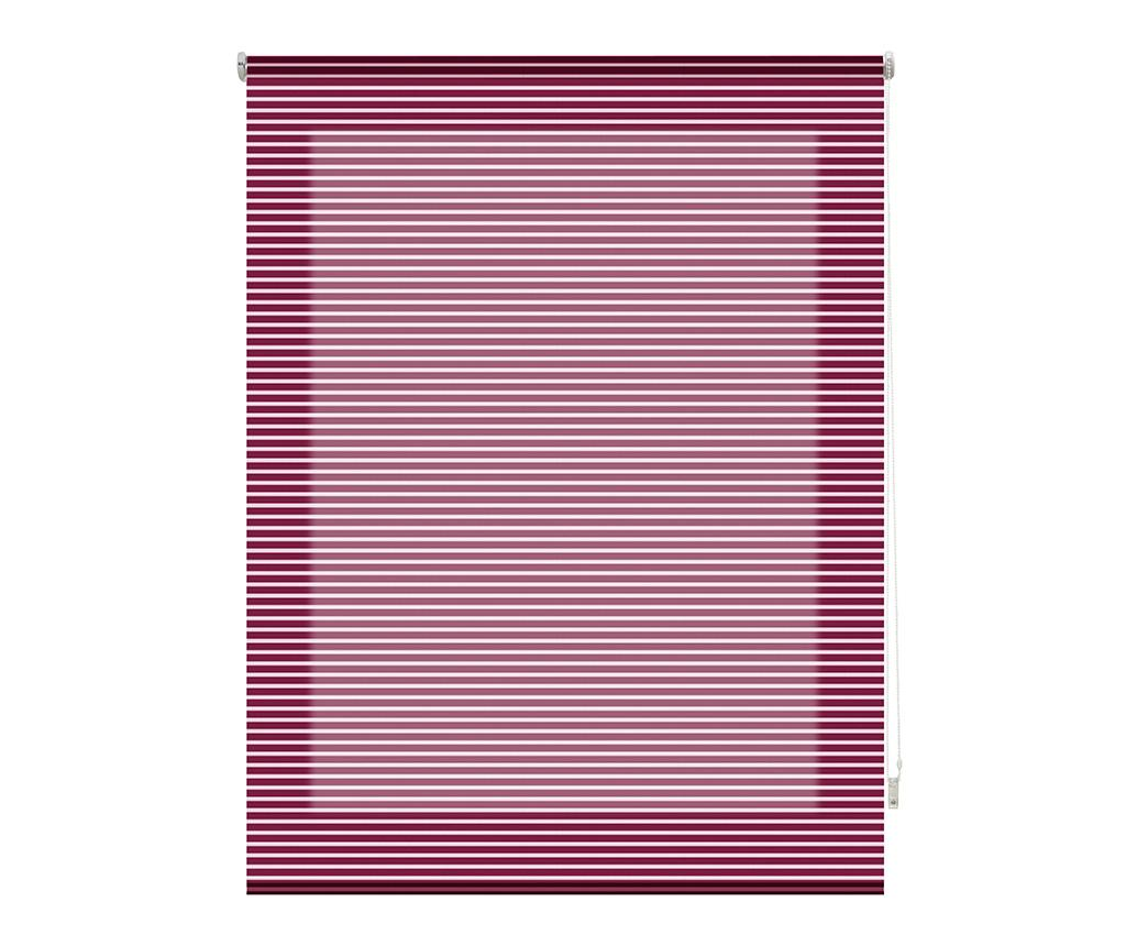 Jaluzea tip rulou Iris Burdeos 140x180 cm - Blindecor, Mov
