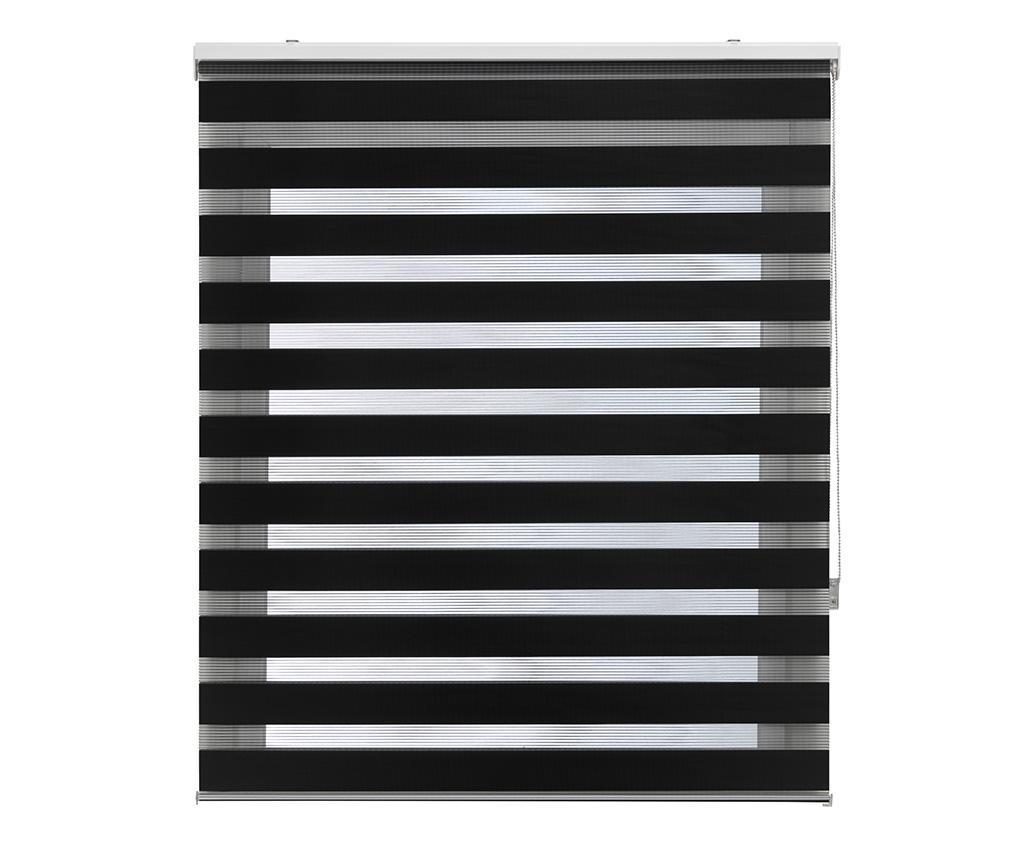 Jaluzea tip rulou Lira Negro 100x250 cm - Blindecor, Negru