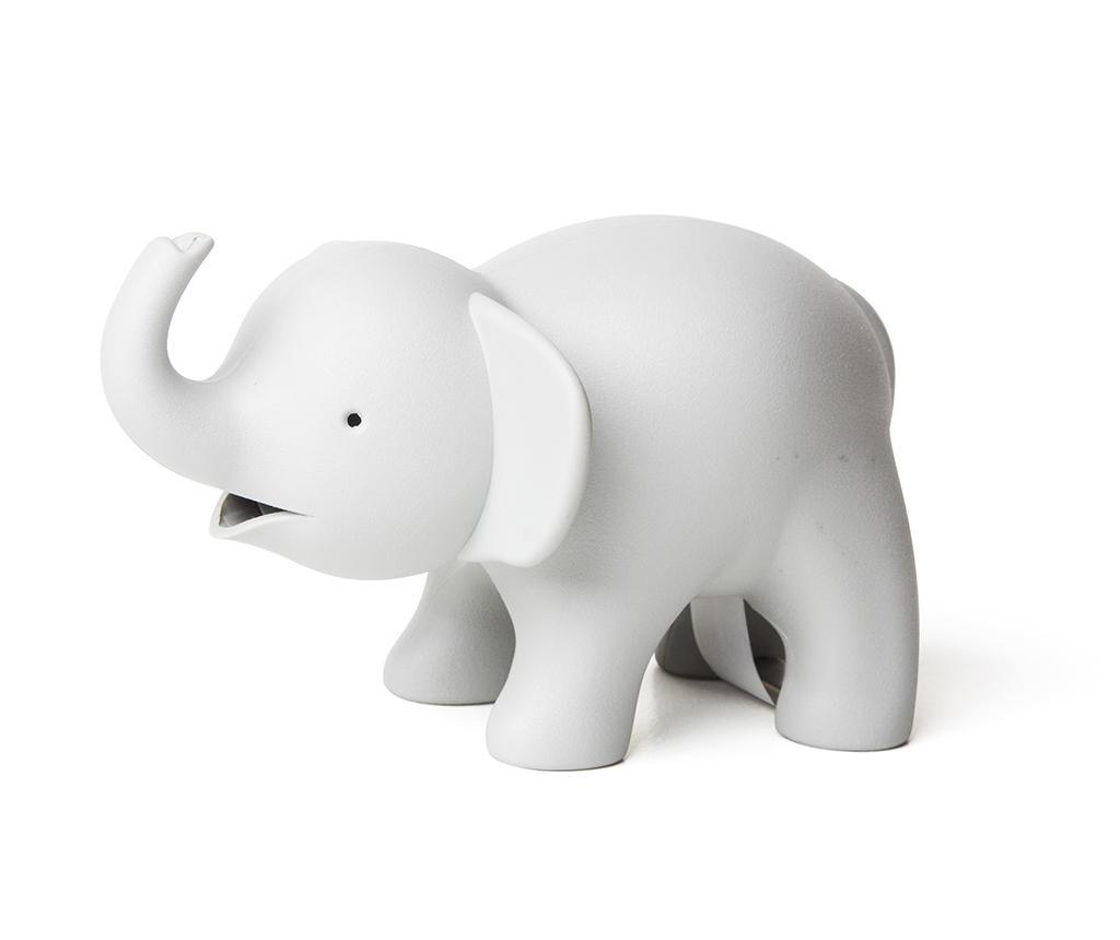 Suport rola scotch Elephant Grey - Qualy, Gri & Argintiu