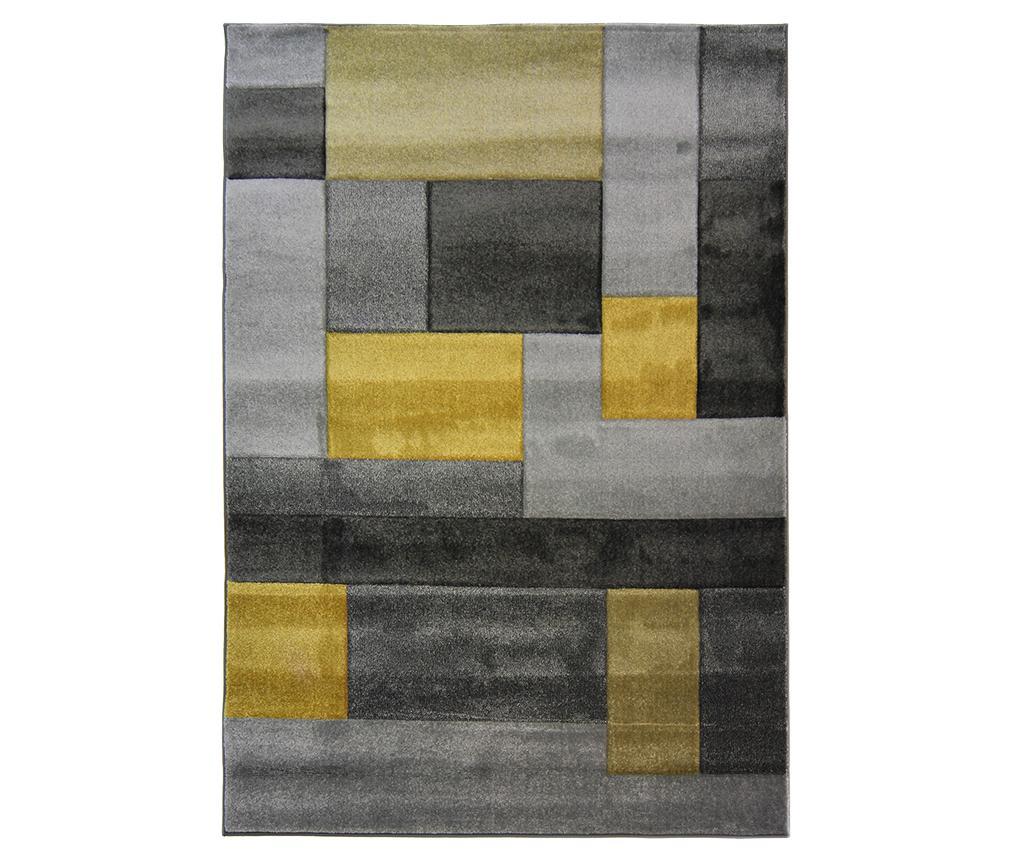 Covor Cosmos Ochre 80x150 cm - Flair Rugs, Galben & Auriu,Gri & Argintiu