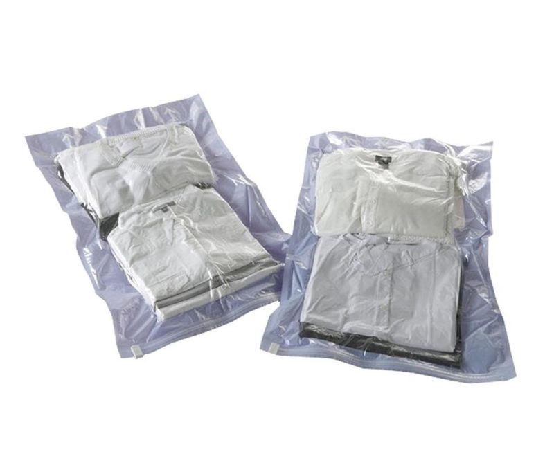 Set 2 saci pentru vidat Travel Plus Purple