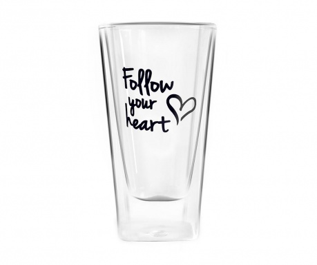Чаша Follow Your Heart 300 мл