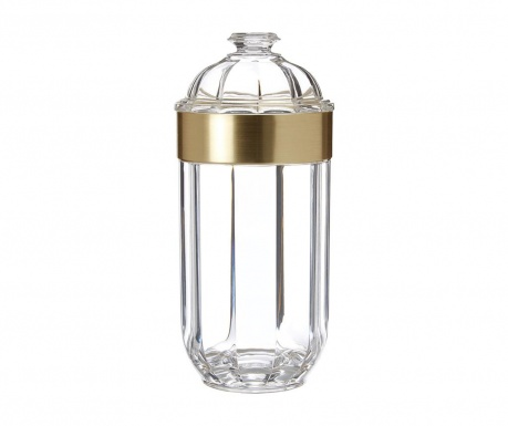 Recipient cu capac ermetic Clear Gold 800 ml