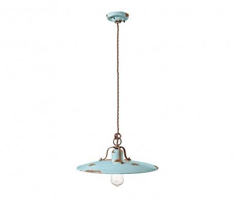 Závěsná lampa Grunge Azzurro