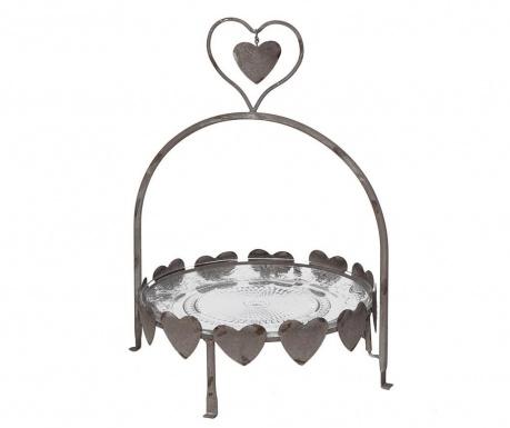 Cake Hearts Szervírozó tál