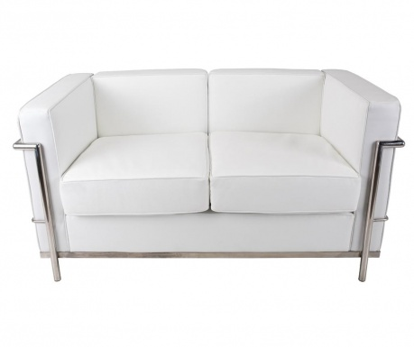 Sofa dwuosobowa Praga White Fancy