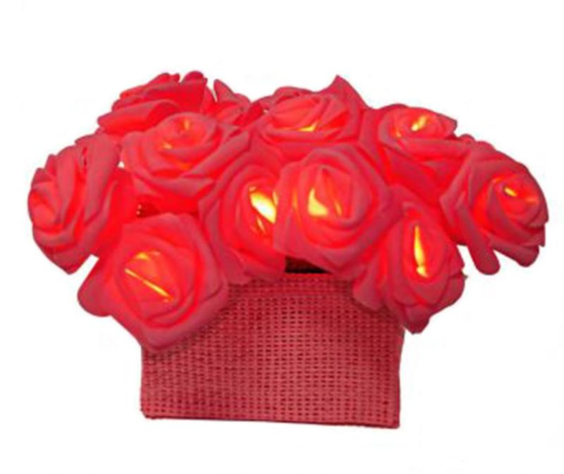 Svjetleći ukras Roses Red