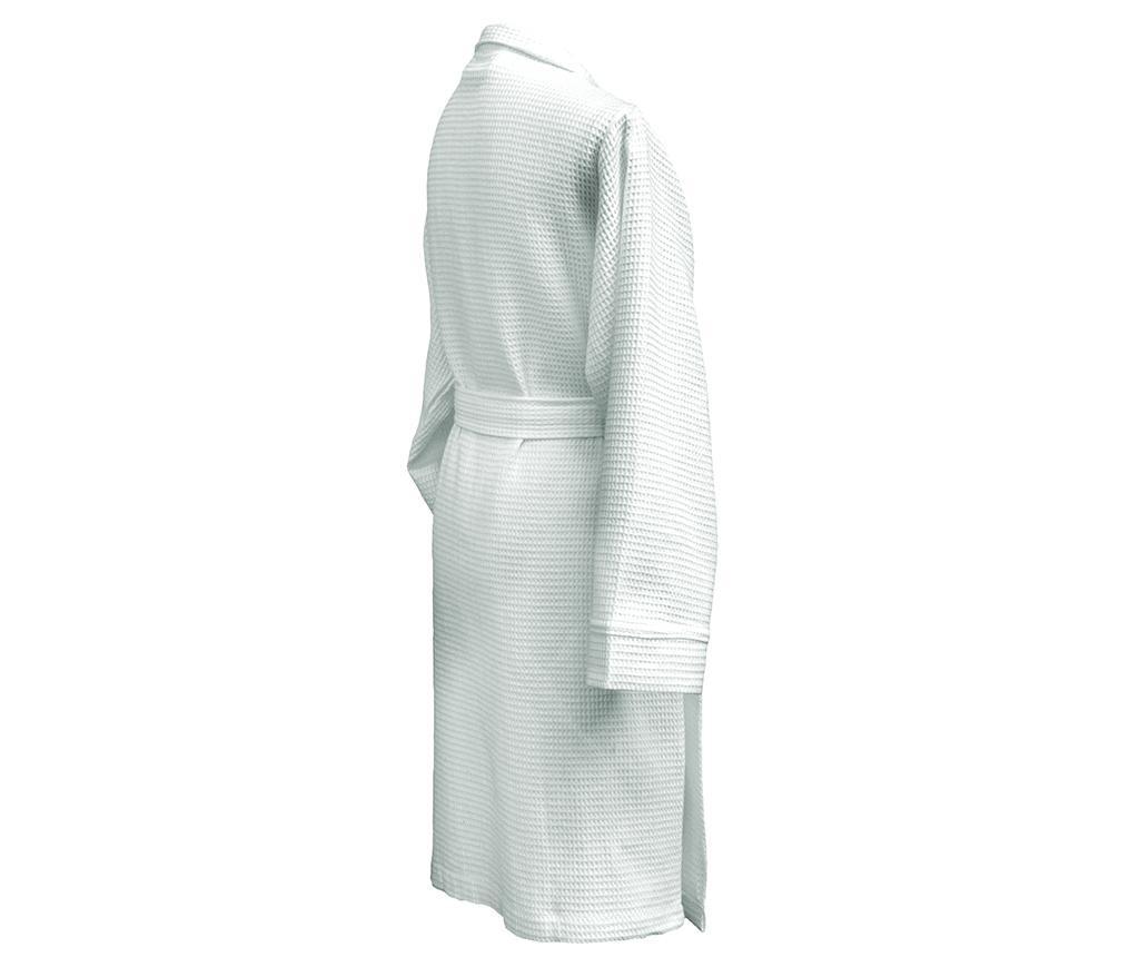 Ženski kupaonski ogrtač Waffel Short Chalk Blue XL