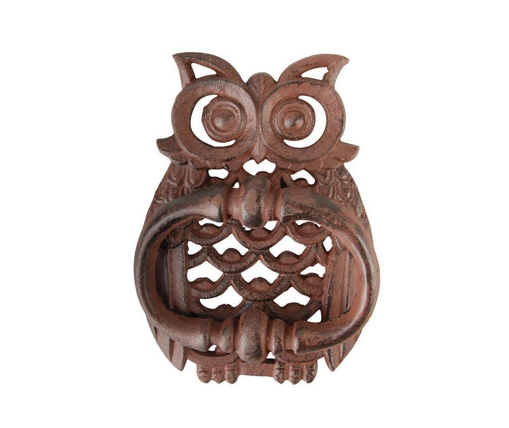 Decoratiune de usa pentru ciocanit Owl