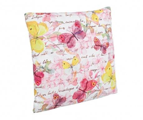 Poduszka dekoracyjna Pink Butterfly 40x40 cm