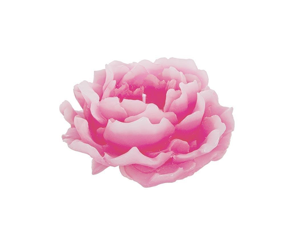 Pink Peonia Gyertya