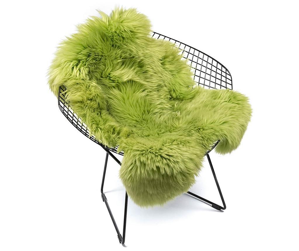 Jagnječji kožuh Swedish Green Apple 60x90 cm