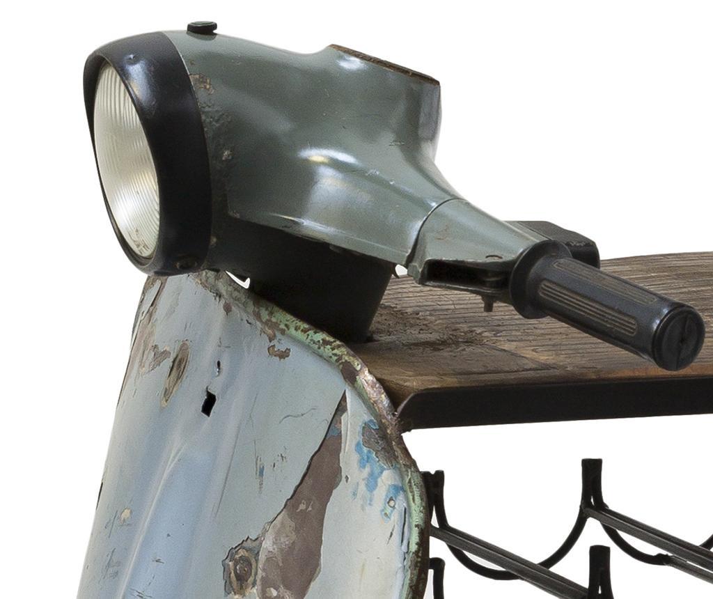 Regal sa držačem za boce Colopa