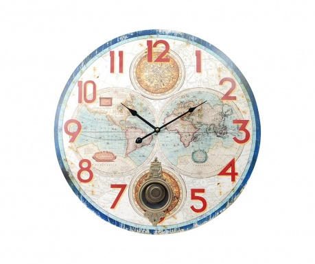 Zidni sat s njihalom World