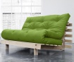 Sofa extensibila Roots Wide Natural and Lime