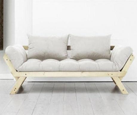 Разтегателен диван Bebop Natural & Natural 75x200 см