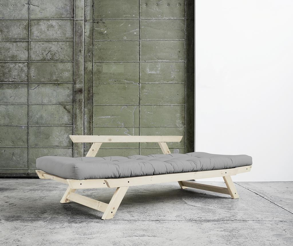 Sofa extensibila Bebop Natural and Grey