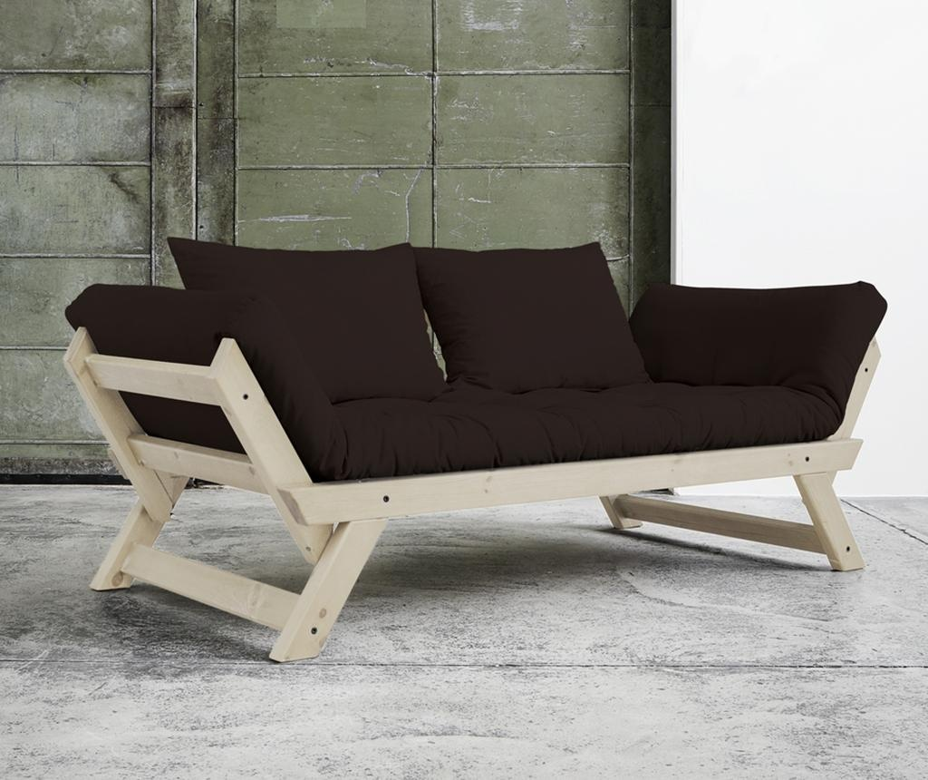 Sofa extensibila Bebop Natural and Brown
