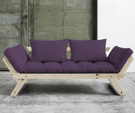 Sofa extensibila Bebop Natural and Purple