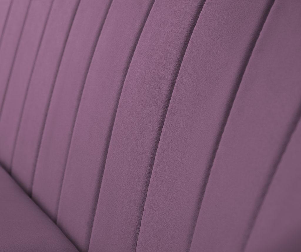 Canapea 2 locuri Sardaigne Purple