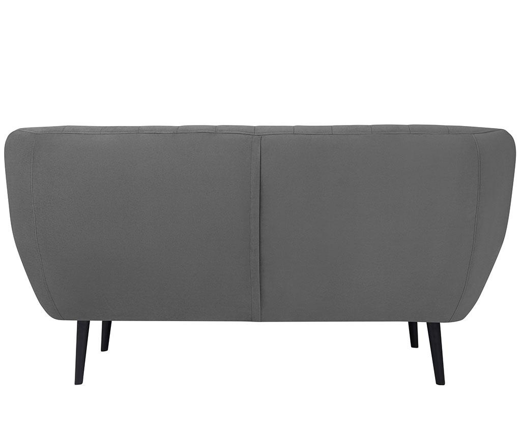 Canapea 2 locuri Toscana Grey