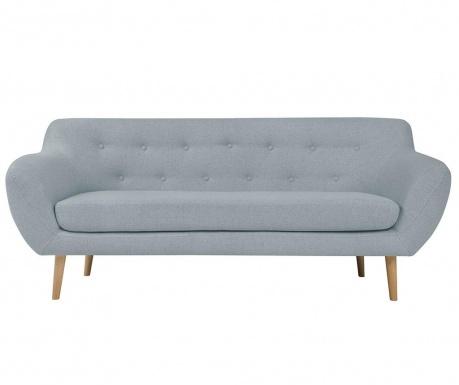 Sicile Light Blue Háromszemélyes kanapé