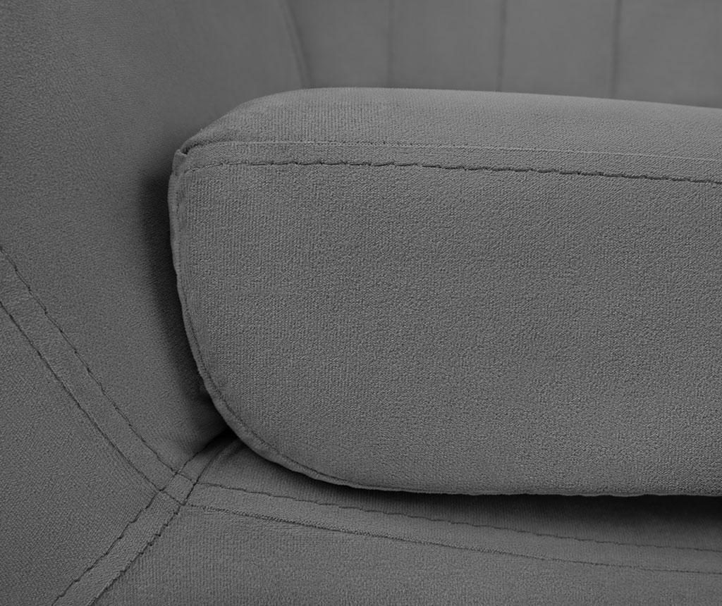 Canapea 3 locuri Toscana Grey