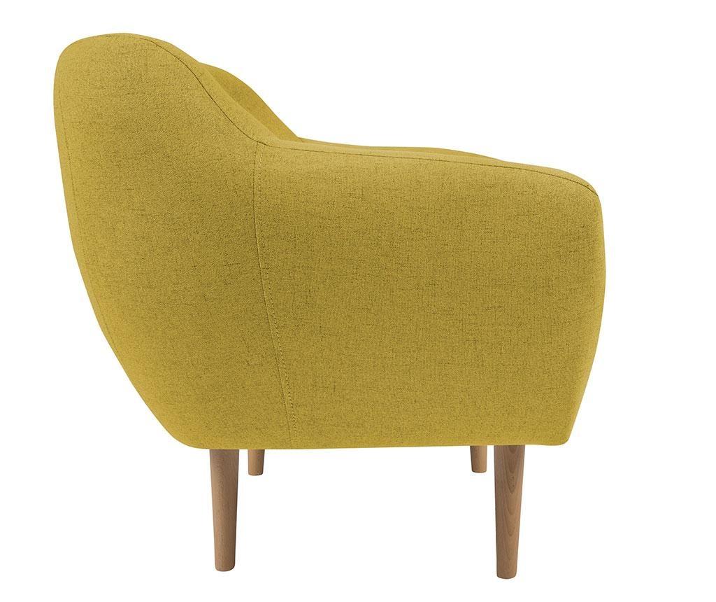 Křeslo Sicile Yellow