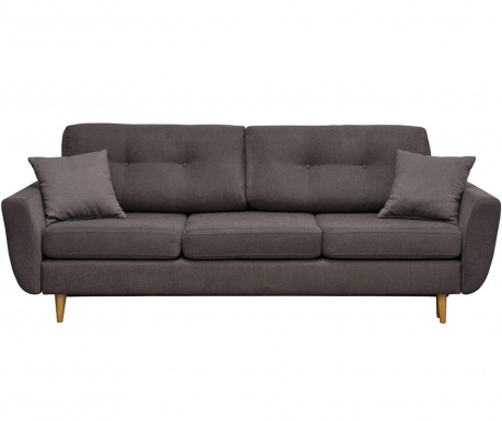 Canapea extensibila 3 locuri Rosa Dark Grey