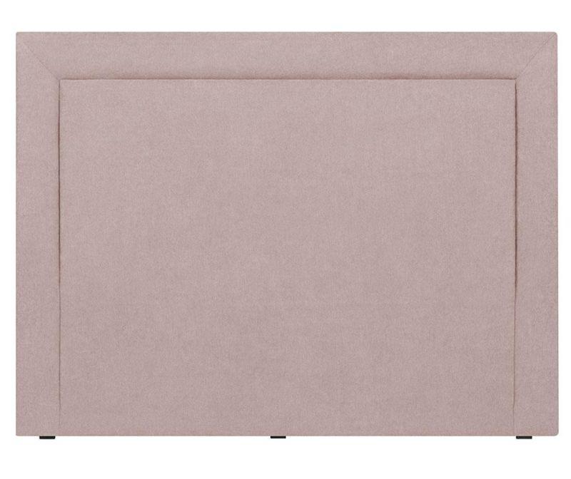 Posteljno vzglavje Ancona Light Pink 120x140  cm