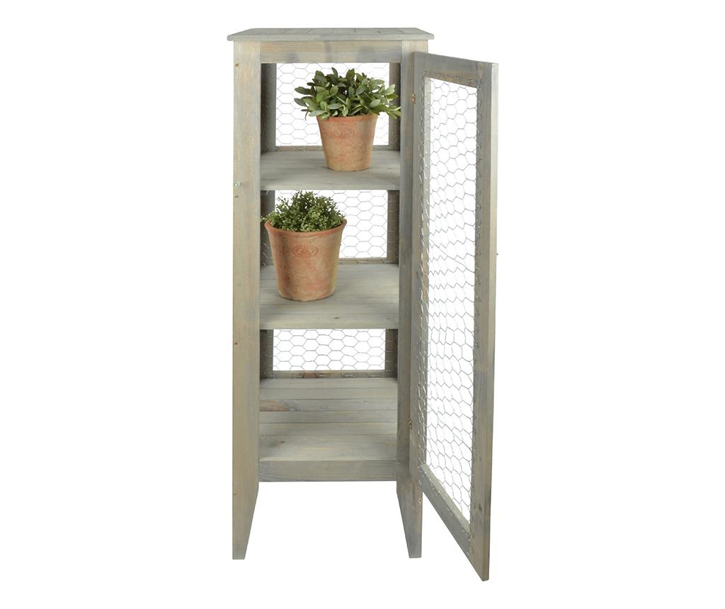 Dulapior pentru exterior Botanical - Esschert Design, Gri & Argintiu