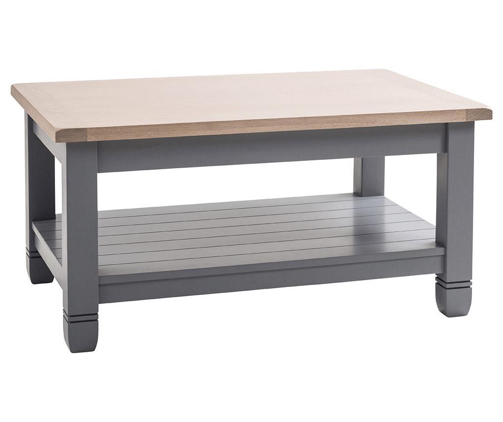 Masuta Cafea Faversham Dove Grey Furniture Co Gri Argintiu