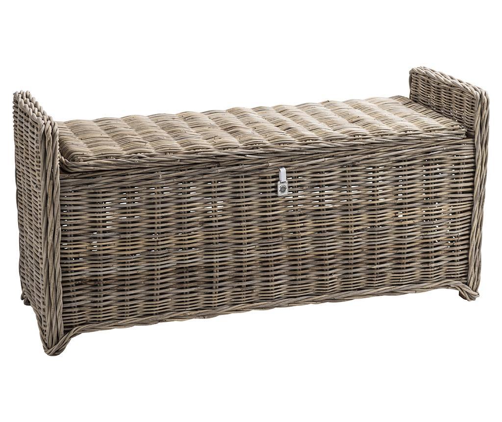 Bancheta Key Largo Kubu - Maine Furniture Co., Maro