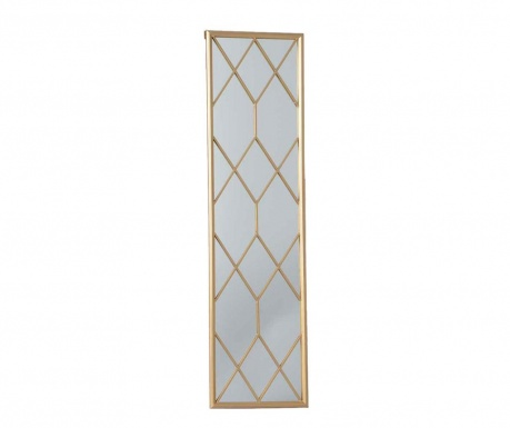 Декорация с огледало Cadrillage Gold Tall