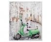 3D slika Moped 50x60 cm