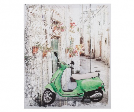 Slika 3D Moped 50x60 cm